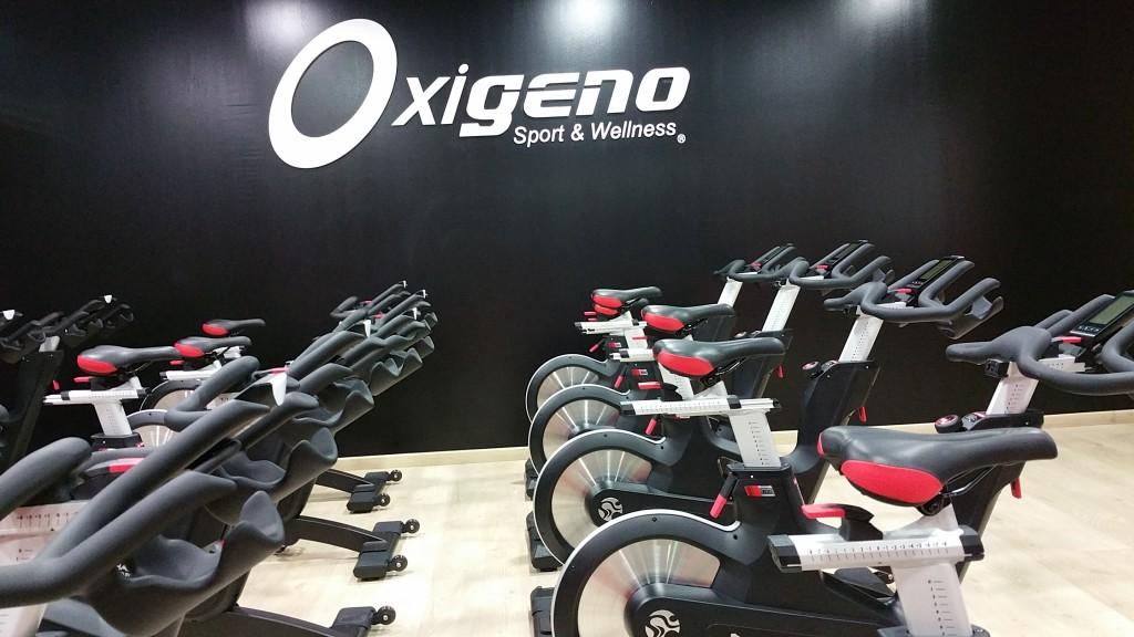 Sala Ciclo Indoor IC7 Oxigeno Sport & Wellness Valdepeñas